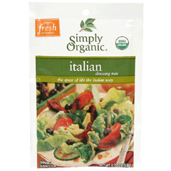BFG53491 - Simply OrganicItalian Salad Dressing
