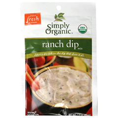 BFG53492 - Simply Organic - Ranch Dip Mix