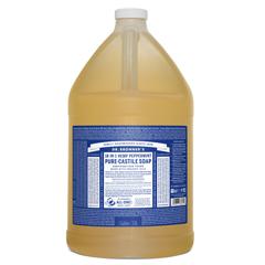BFG54203 - Dr. Bronner'sPeppermint Pure-Castile Liquid Soap - 1 Gallon