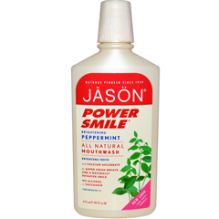 BFG57769 - Jason Natural ProductsPowersmile® Brightening Peppermint Mouthwash