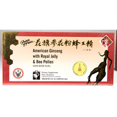 BFG58752 - Prince Of PeaceAmerican Ginseng with Royal Jelly & Bee Pollen