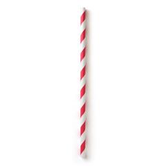 BFG60395 - Susty PartyRed Striped Straws