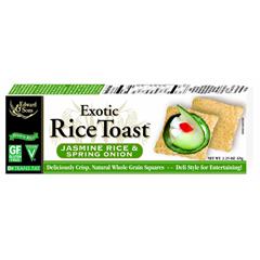 BFG62042 - Edward & SonsExotic Rice Toast Jasmine & Spring Onion Crackers