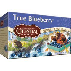 BFG63475 - Celestial SeasoningsTrue Bluberry Herbal Tea