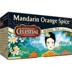 BFG63481 - Celestial SeasoningsMandarin Orange Spice Herbal Tea