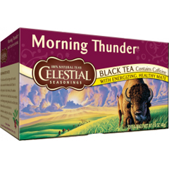 BFG63482 - Celestial SeasoningsMorning Thunder Herbal Tea (Contains Caffeine)