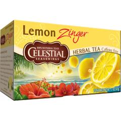 BFG63487 - Celestial SeasoningsLemon Zinger Herbal Tea