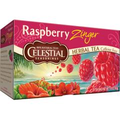 BFG63488 - Celestial SeasoningsRaspberry Zinger Herbal Tea