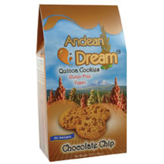 BFG64332 - Andean DreamChocolate Chip Quinoa Cookies