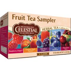 BFG65409 - Celestial SeasoningsHerbal Fruit Tea Sampler