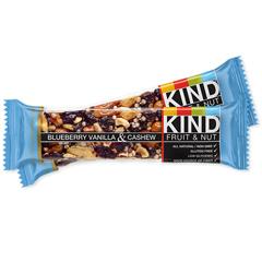 BFG67333 - KindBlueberry Vanilla & Cashew Bars