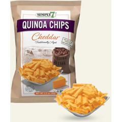 BFG68484 - Simply 7Cheddar Quinoa Chips
