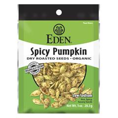 BFG68927 - Eden FoodsPocket Snacks Spicy Pumpkin Seeds