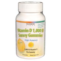 BFG80338 - Rainbow LightSunny Gummies, Vitamin D, 1000 IU