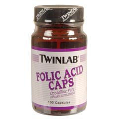 BFG80536 - TwinlabFolic Acid, 800 mg