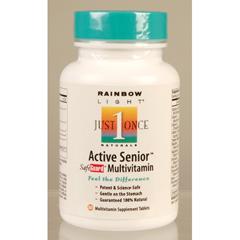 BFG81136 - Rainbow LightActive One Senior Multivitamin