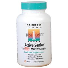 BFG81137 - Rainbow LightActive One Senior Multivitamin