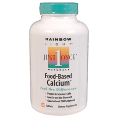 BFG81400 - Rainbow LightFood Based Calcium