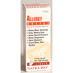 BFG82187 - NatraBioHomeopathy - Allergy Relief