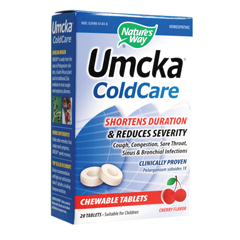 BFG82683 - Nature's WayUmcka Cold Care Chewable, Cherry