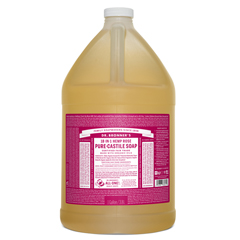 BFG83856 - Dr. Bronner'sRose Pure-Castile Liquid Soap - 1 Gallon