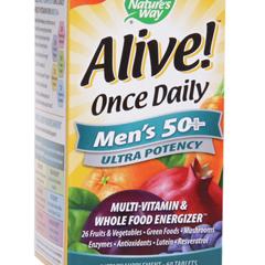 BFG84292 - Nature's WayAlive! Mens 50+ Multi Vitamin