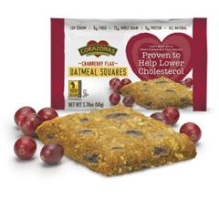 BFG84578 - CorazonasCranberry Flax Oatmeal Squares
