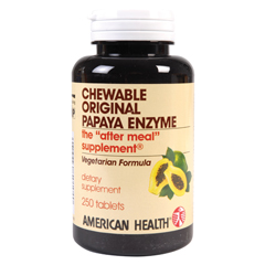 BFG84922 - American HealthDigestion Aids - Papaya, Original