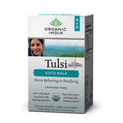 BFG85026 - Organic IndiaTulsi Gotu Kola Tea
