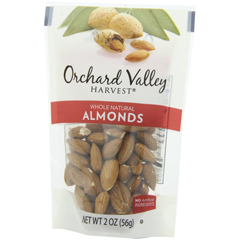 BFG26470 - Orchard Valley HarvestRaw Whole Natural Almonds