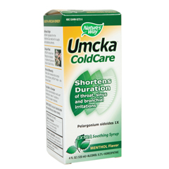 BFG86102 - Nature's WayUmcka Cold Care Syrup, Menthol