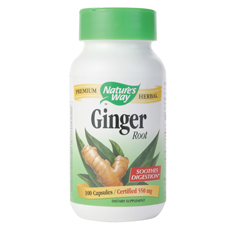 BFG86279 - Nature's WaySingle Herbs - Ginger Root