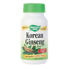 BFG86281 - Nature's WayGinseng, Korean White