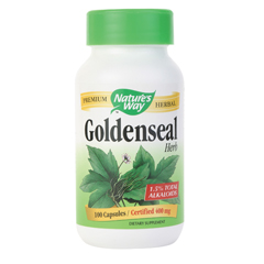 BFG86285 - Nature's WaySingle Herbs - Goldenseal Herb