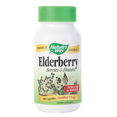 BFG87005 - Nature's WaySingle Herbs - Elderberry