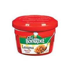 BFVAHF04730 - Conagra FoodsChef Boyardee Lasagna and Beef Mircowave Meal