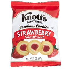 BFVBIS59561 - BiscomericaKnotts Berry Strawberry Shortbread