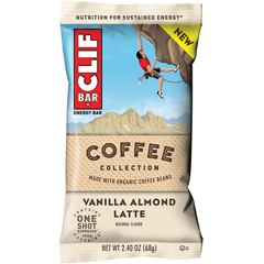 BFVCCC13986 - Clif Bar - Energy Bars, Coffee Collection, Vanilla Almond Latte, 24/BX