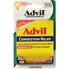 BFVCON17295-BX - Convenience ValetAdvil Congestion Relief