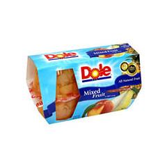 BFVDOL71924 - Dole FoodsFruit Bowls - Mixed Fruit