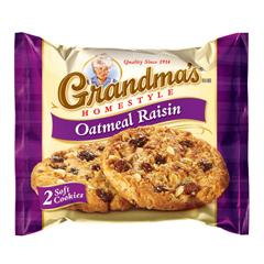 BFVFRI45093 - Frito-LayGrandmas Homestyle Oatmeal Raisin Cookies