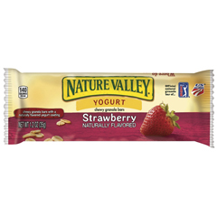 BFVGEM13158-BX - General MillsNature Valley Yogurt Bar Chewy Strawberry