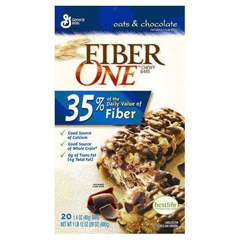 BFVGEM14562 - General MillsFiber One Chewy Oats & Chocolate