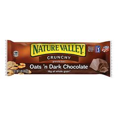 BFVGEM31261 - General MillsNature Valley® Oats n Dark Chocolate Crunchy Granola Bars