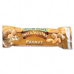 BFVGEM34883 - General MillsNature Valley Granola Bar Sweet & Salty Peanut