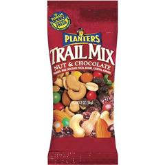 BFVGEN00027 - Wrigley'sPlanters Trail Mix Nut & Chocolate, 2 oz. Packets, 72/CS