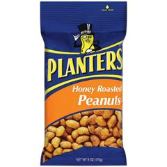 BFVGEN12575 - KraftPlanters Peanuts Honey Roasted Big Bag