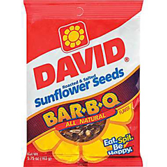 BFVGOV46570 - David Sunflower SeedsBBQ Natural Sunflower Seeds