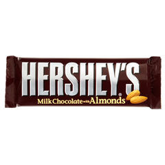 HEC27121-BX - Hershey FoodsMilk Chocolate w/Almonds