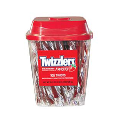 BFVHEC51902 - Hershey FoodsTwizzlers Canisters